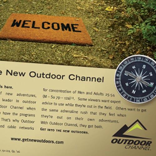 Outdoor Channel Ad Campaign