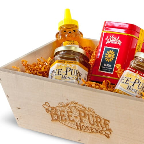 Bee-Pure Honey Packaging