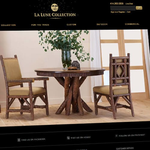 La Lune Website