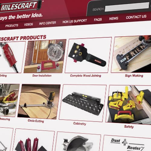 Milescraft Website