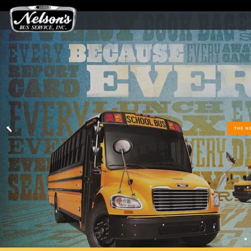 Nelson's Bus Service Website