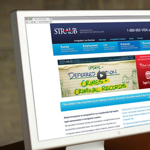 Straub Immigration Website