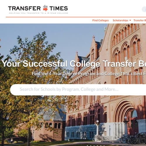 Transfer Times Website